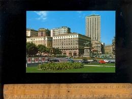 NAPOLI : Piazza Municipio Con Palaca Ambassador's Hotel - Napoli (Naples)