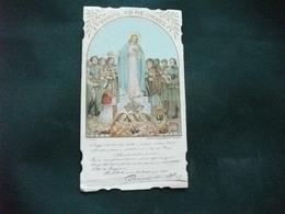 SANTINO HOLY PICTURE IMAGE SAINTE SACRO CUORE DI GESU' C. DONATI - Religión & Esoterismo