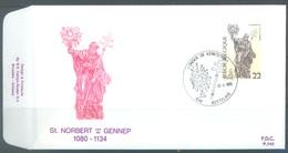 BELGIUM - 12.1.1985 - FDC - ST NORBERT GENNEP -  RODAN 740 BOTTELARE - COB 2156 -  Lot 19587 - FDC