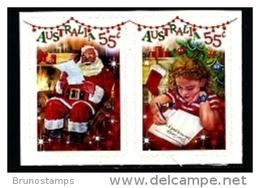 AUSTRALIA - 2010  CHRISTMAS  SELF ADHESIVE  SET  MINT NH - Nuovi