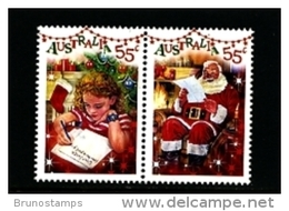 AUSTRALIA - 2010  CHRISTMAS PAIR  MINT NH - Nuovi