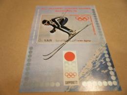 Yemen 1971 Olympics Winter Games  1972 - Yemen