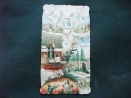 SANTINO HOLY PICTURE IMAGE SAINTE SS. MESSA PARADISO MORTE PURGATORIO A TUTTI I SANTI A TUTTI I MORTI - Religione & Esoterismo