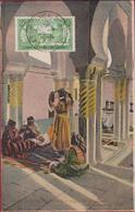 Marokko Maroc Typique CPA Afrique Cour De Maison Mauresque Femmes Casablanca Maroc MOROCCO Folklore Folklorique - Casablanca