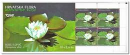 Kroatië 2006, Postfris MNH , Flowers ( Booklet, Carnet ) - Kroatië