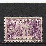 MAURITANIE - Y&T N° 63° - Exposition Coloniale De Paris - Oblitérés