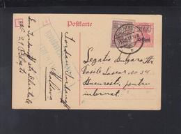 Dt. Reich Besetzung Rumänien Romania GSK 1917 Pitesti Bulgarische Legation Für Internierten Moldova - Occupation 1914-18