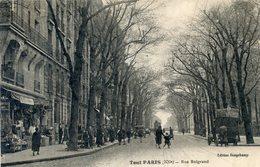 75  PARIS  20e AR   SERIE TOUT PARIS RUE BELGRAND - Paris (20)