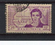 MAURITANIE - Y&T N° 96° - René Caillié - Oblitérés
