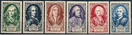 Francia/France: C. De Secondat, Voltaire, A. Watteau, G, L. Leclerc (Buffon), J. Francois, A. R. J. Turgot - Altri