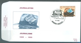 BELGIUM - 9.2.1985 - FDC - PRESS -  RODAN 742 GENT - COB 2156 -  Lot 19588 - FDC