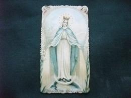 SANTINO HOLY PICTURE IMAGE SAINTE IMMACCOLATA CONCEZIONE  ANGELI - Religion & Esotericism