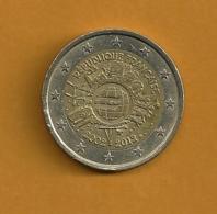 FRANCE 2 Euros 10 Ans De L'euro 2002-2012 - France