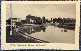 1943 DOLO RIVIERA DEL BRENTA IL NAVIGLIO / Venezia - Italia