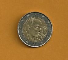 FRANCE 2 Euros François MITTERRAND 1916-2016 - France