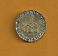 ALLEMAGNE 2 Euros Saarland 2009 Lettre Illisible - Allemagne