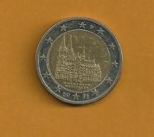 ALLEMAGNE 2 Euros Nordrhein-Westfalen 2011 Lettre G - Allemagne