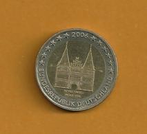 ALLEMAGNE 2 Euros 2006 Schleswig-Holstein Lettre B - Allemagne