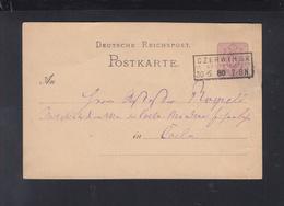 Dt. Reich Polen Poland GSK 1880 Czerwinsk Nach Köln - Deutschland