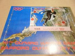 Yemen Imperf Miniature Sheet Olympics 1972 - Yemen