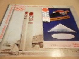 Yemen Perf Miniature Sheet Olympics 1972 - Yemen