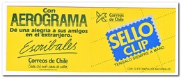 Chili 1989, Postfris MNH , Export ( Booklet, Carnet ) - Chili