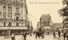 75  PARIS  15e AR   PLACE BEAUGRENELLE ET RUE SAINT CHARLES - Arrondissement: 15