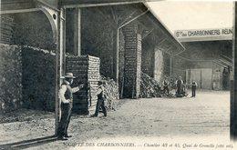 75  PARIS  15e AR   SOCIETE DES CHARBONNIERS QUAI DE GRENELLE - Arrondissement: 15