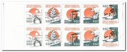 Chili 1990, 1992, Postfris MNH , Environment ( 4 Booklets, Carnets ) - Chili