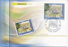 ITALIA - FDC MAXIMUM CARD 2006 - TURISMO POZZUOLI - ANNULLO SPECIALE - Cartoline Maximum