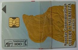 SPAIN - Chip - 100 Units - P-151 - Monedas Conmemoratives II - 09/95 - 14100ex - Mint Blister - Spain