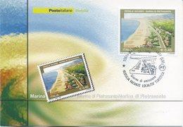 ITALIA - FDC MAXIMUM CARD 2006 - TURISMO VERSILIA - MARINA DI PIETRASANTA - ANNULLO SPECIALE - Cartoline Maximum