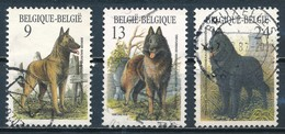 °°° BELGIO - Y&T N°2213/15 - 1986 °°° - Belgio