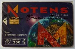 SPAIN - Chip - 250 Units - P-262 - Motens - 05/97 - 13100ex - Mint Blister - Spain