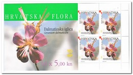 Kroatië 2000, Postfris MNH , Flowers ( 2 Booklets, Carnets ) - Kroatië