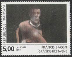France Neuf Sans Charnière 1992 Portrait De John Edward De Francis Bacon Peinture Peintre YT 2779 - Modernos