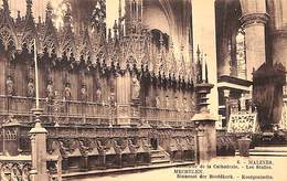 Malines - Mechelen -  Binnenst Der Hoofdkerk - Koorgestoelte (1926) - Malines