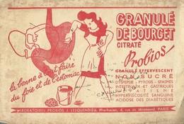 Granulé De Bourget Citraté. - Probios, Granulé Effervescent. - Buvards, Protège-cahiers Illustrés