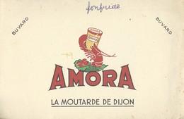 Amora, La Moutarde De Dijon. - Vloeipapier