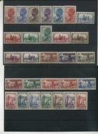 1936-38 Costa D'Avorio, Pittorica, Serie Completa Nuova (*) Linguellata - Costa D'Avorio (1892-1944)