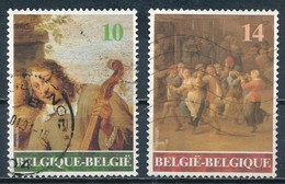 °°° BELGIO - Y&T N°2393/94 - 1990 °°° - Belgio