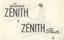 Lampe Zénith Fluor. - Blotters