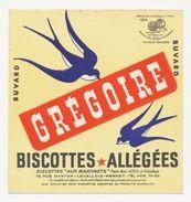 Buvard - BISCOTTES GREGOIRE - ALLEGEES - Zwieback
