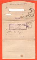 POW India Prisoners Of War Lettera Prigionieri Di Guerra Letter Prisonniers De Guerre From BOMBAY Camp To Vicenza 1942 - Documents