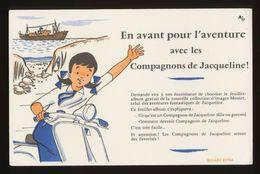 Buvard - Les Compagnons De JACQUELINE - Vloeipapier