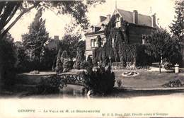 Genappe - La Villa De M. Le Bourgmestre (W V S Edit. Decelle Soeurs, 1908) - Genappe