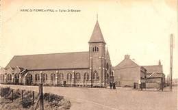 Haine St Pierre Et Paul - Eglise St Ghislain (animée, Desaix, Esit. Papeterie Moderne) - Saint-Ghislain