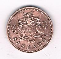 1 CENT 1973 BARBADOS /4467/ - Barbades