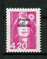 SPM MIQUELON 1993  N° 572 ** Neuf  MNH Superbe C 2.40 &€ Marianne Du Bicentenaire - St.Pedro Y Miquelon