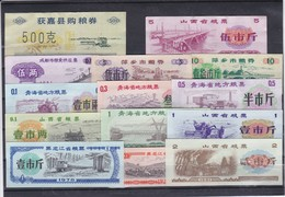 LOTE DE 14 BILLETES LOCALES DE CHINA TODOS DIFERENTES Y EN BUENA CALIDAD SC Y EBC (XF - UNC) (BANKNOTE) - China